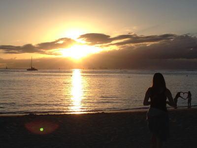夕陽のイメージ画像