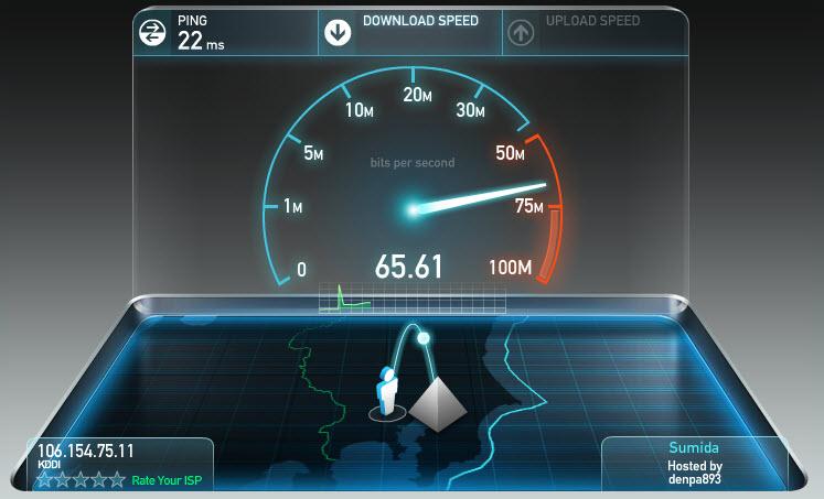 回線速度計測サービスイメージ画像