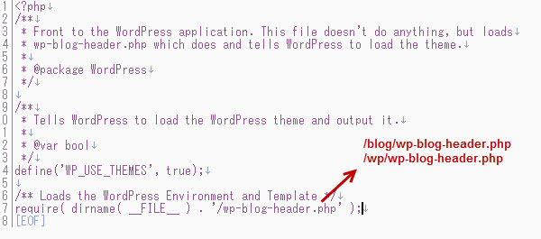 ワードプレス設定変更イメージ画像