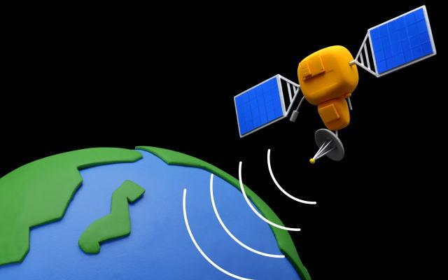 人工衛星イメージ画像