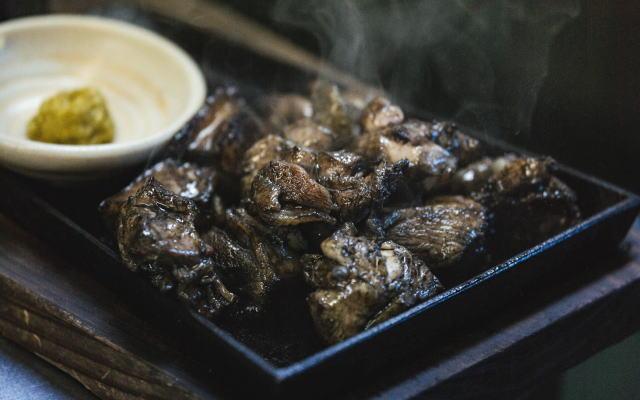宮崎産鶏の炭火焼イメージ画像