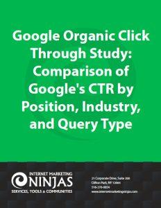検索順位とクリック率との関係資料イメージ画像