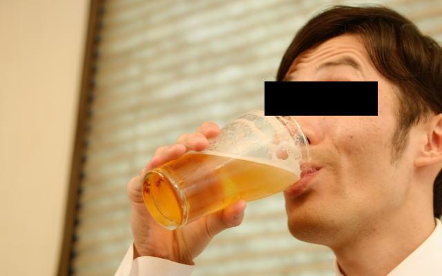 アルコール好きサラリーマン